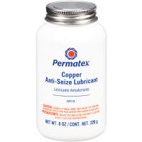 Devcon 9128 - Permatex Copper Anti-Seize Lubricant - 8 oz. brush top bottle