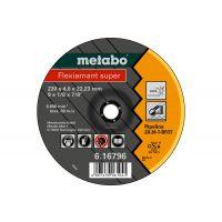 "Metabo 616792000 - Grinding Wheel, 4-1/2"" x 1/8"" x 7/8"", Type 27, Zirconia Alumina, ZA24T"
