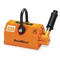 """Eriez RPL-11 - SafeHold Lifting Magnet, 1100 lb Cap, 7-3/4"""" OAL"""