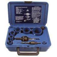 Blu-Mol 9592 - 9 piece Plumber's Hole Saw Kit