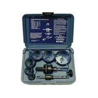 Blu-Mol 9593 - 9 piece Electrician's Hole Saw Kit