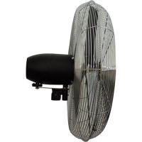 "TPI 08749202 - 30"" 120V 2.0A 1/4HP 2-Speed Oscillating Wall Mount Circulating Fan"