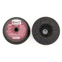 """Sait 26010 - Grinding Cup Stones, 5"""" x 4"""" x 2"""" x 5/8""""-11, Type 11, A16, Aluminum Oxide"""