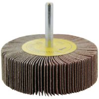 Wendt Abrasives 110794 - 3 x 1 x 1/4 In. Shank Flap Wheel, 60 Grit Silicon Carbide
