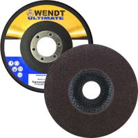 "Wendt Abrasives 245814 - 4-1/2 x 7/8"" Unitized Disc with Fiberglass Backing, 4A Coarse, 120 Grit"