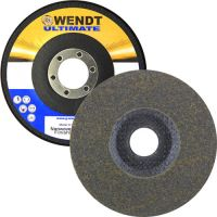 "Wendt Abrasives 49671 - 4-1/2 x 7/8"" Unitized Disc with Fiberglass Backing T27, 4S Very Fine, 240 Grit"